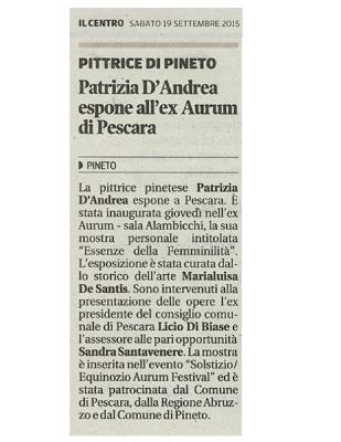 2015 – Il Centro, Aurum
